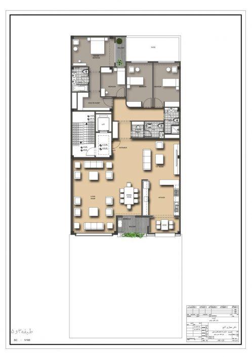 طبقات سه و پنج نمونه ساختمان دستور