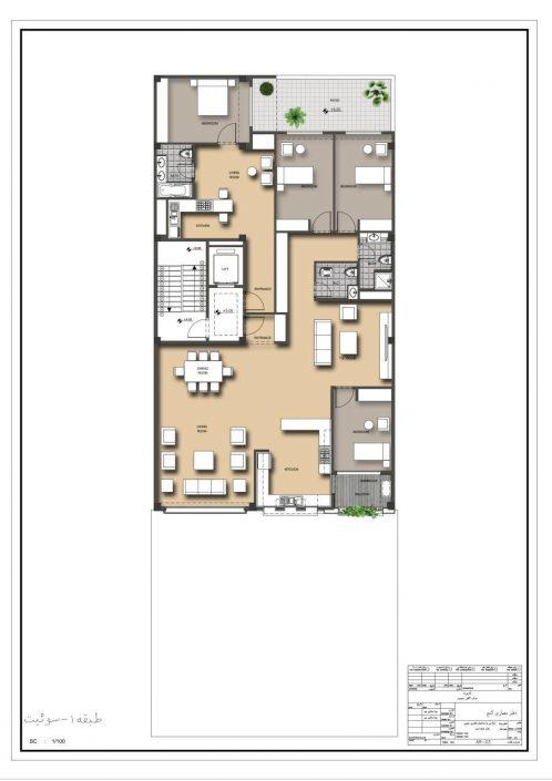 ساختمان دستور طبقه یک نمونه